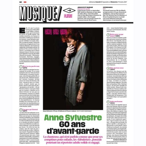 Libération Septembre 2017